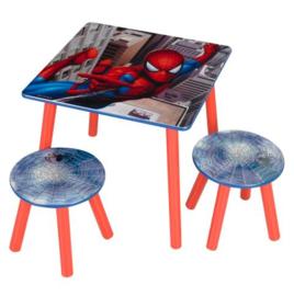 Spiderman Tafel met 2 Krukjes - WorldsApart