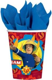 Brandweerman Sam Feestbekertjes - 8 stuks