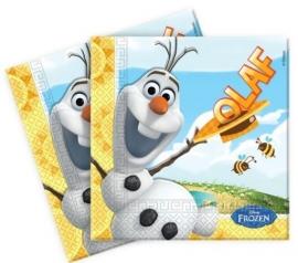 Disney Frozen Olaf Servetten - 20 stuks