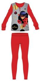 Miraculous Ladybug Pyjama - Grijs/Rood