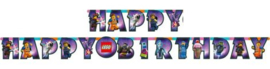 Lego Movie Letterslinger 'Happy Birthday'