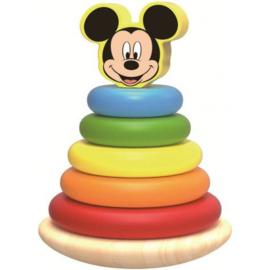 Mickey Mouse Houten Tuimel Stapeltoren - Disney Baby
