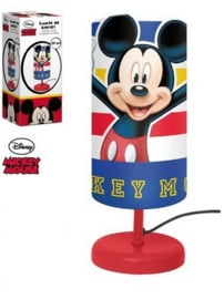 Mickey Mouse Tafellamp - Rode voet