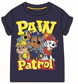 Paw Patrol T-shirt - Donker Blauw