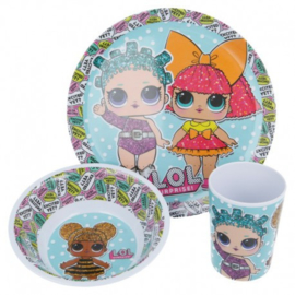 LOL Surprise Kinderservies - Melamine