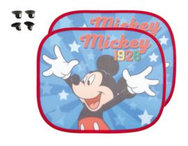 Mickey Mouse Auto Zonnescherm - 2 Stuks