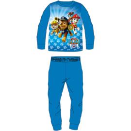 Paw Patrol Fleece Pyjama - Blauw/Blauw