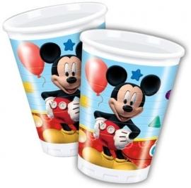 Mickey Mouse Feestbekertjes - 8 stuks
