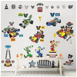Mickey Mouse Muurstickers Room Decor Kit - Walltastic