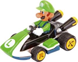 Super Mario Pull Back Kart 8 Luigi - 19316
