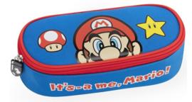 Super Mario Etui - Blauw