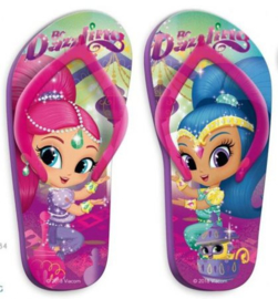 Shimmer and Shine Teenslippers - Maat 31 t/m 34