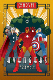 Avengers Superhelden Maxi Poster