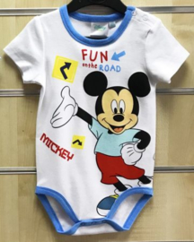 Mickey Mouse Rompertje - Maat 50 t/m 86 - Disney Baby