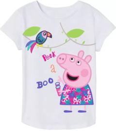 Peppa Pig T-shirt - Wit