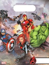 Avengers Uitdeelzakjes - 6 stuks