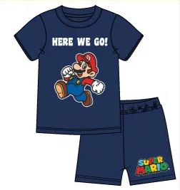 Super Mario Shortama - Blauw