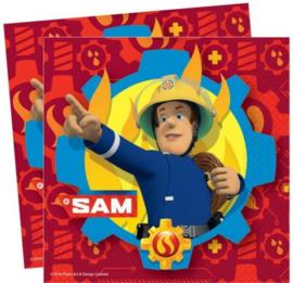 Brandweerman Sam Servetten - 20 stuks