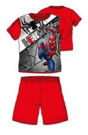 Spiderman Shortama - Rood
