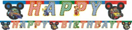 Mickey Mouse Letterslinger 'Happy Birthday'