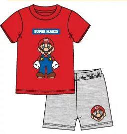 Super Mario Shortama - Rood Grijs