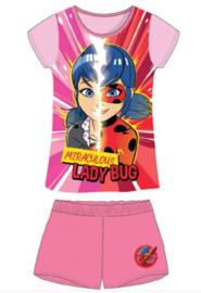 Miraculous Ladybug Shortama / Zomer Set - Maat 98