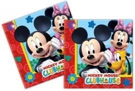 Mickey Mouse Servetten - 20 stuks