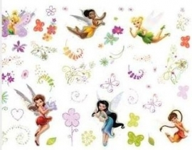 Fairies Muurstickers - 45 stuks  - Decofun
