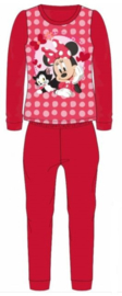 Minnie Mouse Fleece Pyjama - Rood