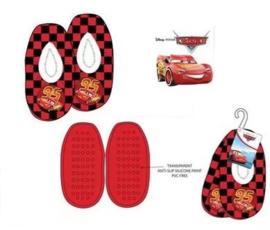 Disney Cars Pantoffel Slofjes - Zwart/Rood