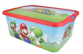 Super Mario Opbergbox - 13 Liter