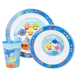 Baby Shark Kinderservies - Magnetron