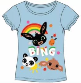 Bing Konijn T-shirt Regenboog - Bleu