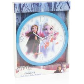 Disney Frozen Wandklok - Blauw