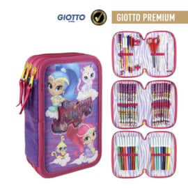 Shimmer and Shine Gevulde Etui - 3 laags