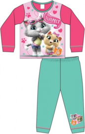 44 Cats Pyjama - Mint/Roze