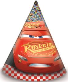 Disney Cars Feesthoedjes - 6 stuks - Formula