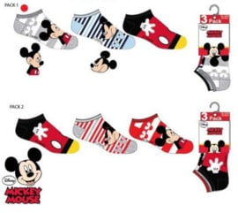 Mickey Mouse Sneakersokken - 3 paar