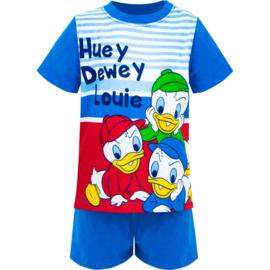 Donald Duck Shortama Kwik, Kwek, Kwak - Licht Blauw