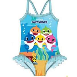 Baby Shark Zwempak / Badpak - Blauwe Rushes