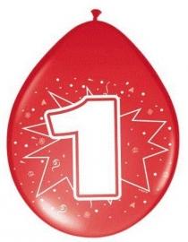Ballonnen 1 t/m 6 jaar