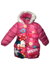 Minnie Mouse Winterjas met Bontkraag - Disney