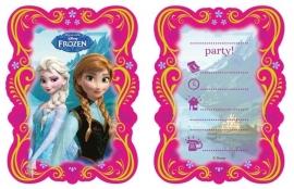 Disney Frozen Classic Uitnodigingen - 6 stuks