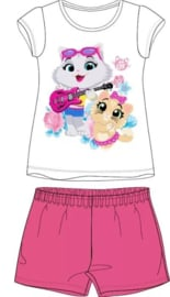 44 Cats Shortama - Roze