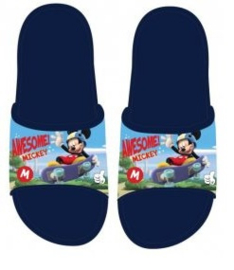 Mickey Mouse Badslippers - Blauw
