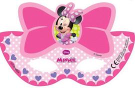 Minnie Mouse Maskers - 6 stuks