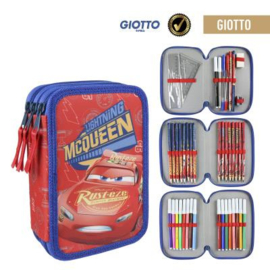 Disney Cars Gevulde Etui - 3 laags