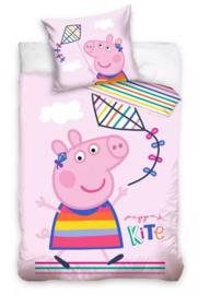 Peppa Pig Baby Dekbedovertrek 100 x 135 cm - Vlieger