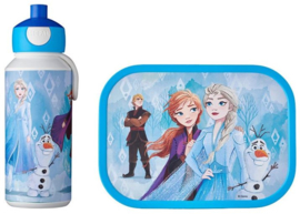 Disney Frozen Lunchset: Broodtrommel met Pop-up Beker - Mepal