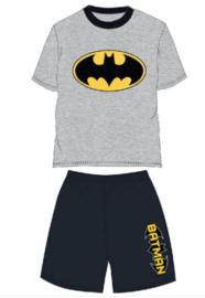 Batman Shortama / Zomer Set - Grijs/Zwart